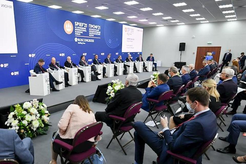 Вопросы обсуждали на традиционном «Бизнес-диалоге Россия — Франция»