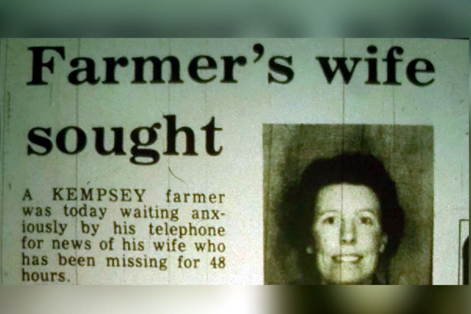 Бренда Венейблс из английского городка Кемпси в графстве Вустершир числилась пропавшей без вести без малого 37 лет.