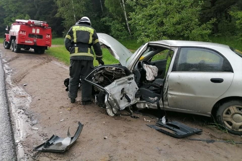 Авария произошла между Серпуховом и Калугой
