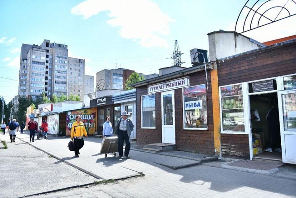 На проспекте Машиностроителей в Ярославле уберут продуктовые ларьки