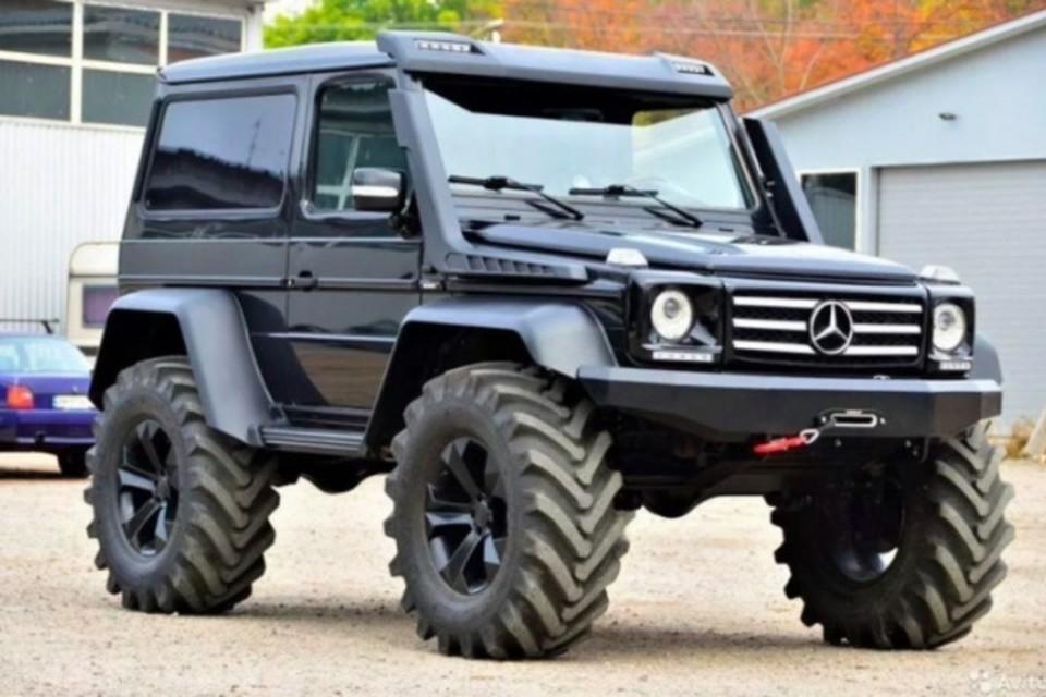Уникальный Mercedes продают в Кабардино-Балкарии. Фото: доска объявлений Avito