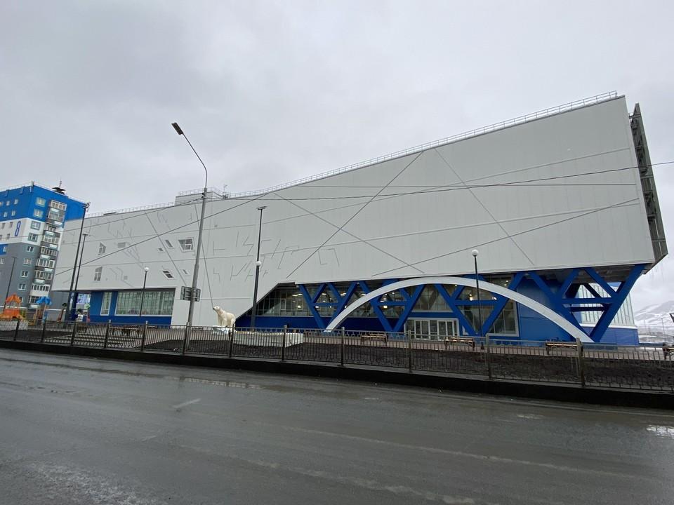 Спорткомплекс «Айка» - лучшее спортивное сооружение в Арктике. Автор фото Марина ПЕШКОВА.