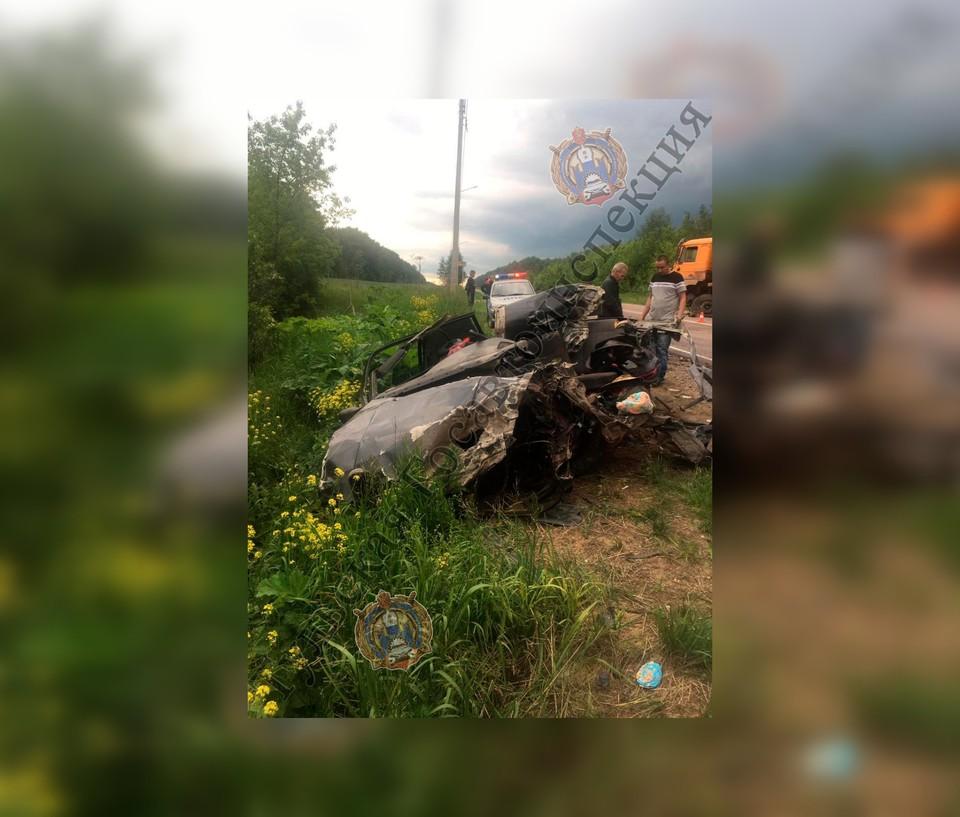 В Тульской области в лобовом столкновении погиб 29-летний мужчина