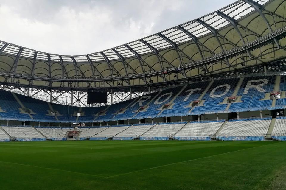 """10 и 17 июля """"Ротор"""" проведет домашние матчи на """"Волгоград Арене"""""""