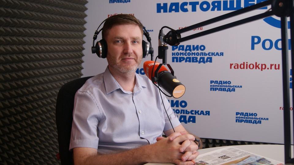 Главврач Перинатального центра Ростовской области Максим Уманский. Фото: ПОПОВА Екатерина