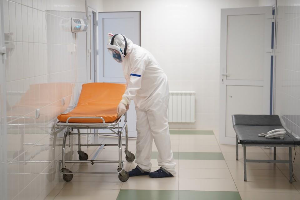 Сейчас на лечении в больницах находятся 900 инфицированных пациентов