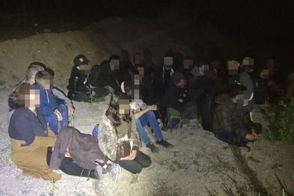 В Литве продолжается наплыв нелегальных мигрантов. Фото: VSAT