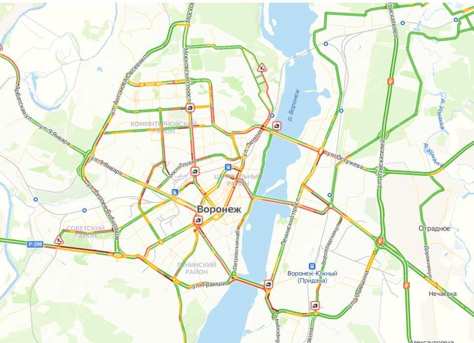 Скрин Яндекс. Карты
