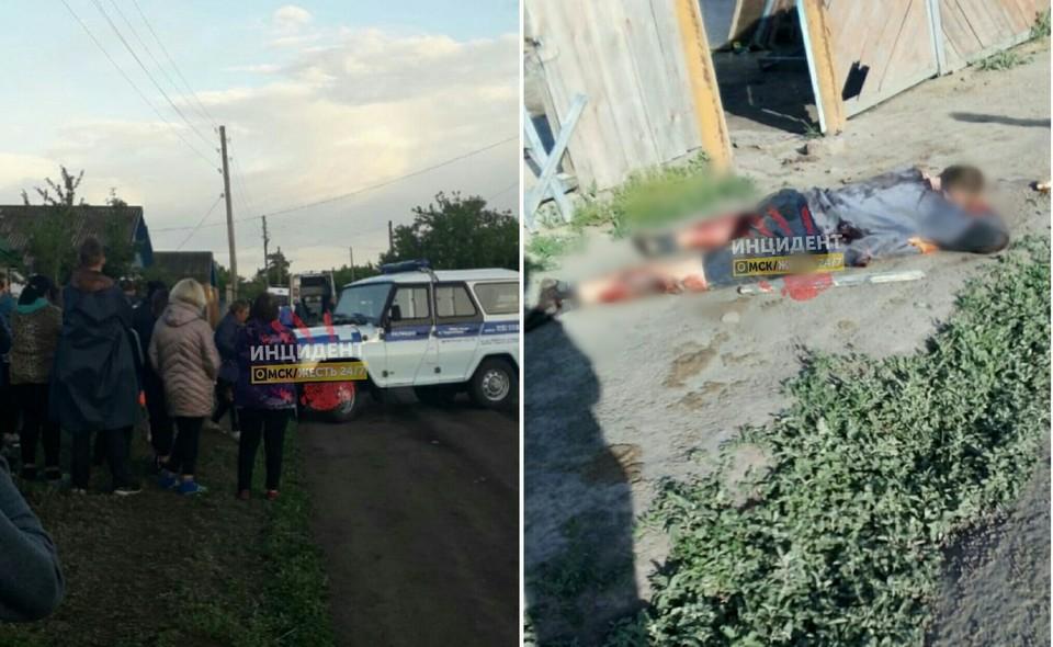 ЧП случилось в Таврическом районе. Фото: «Инцидент Омск»