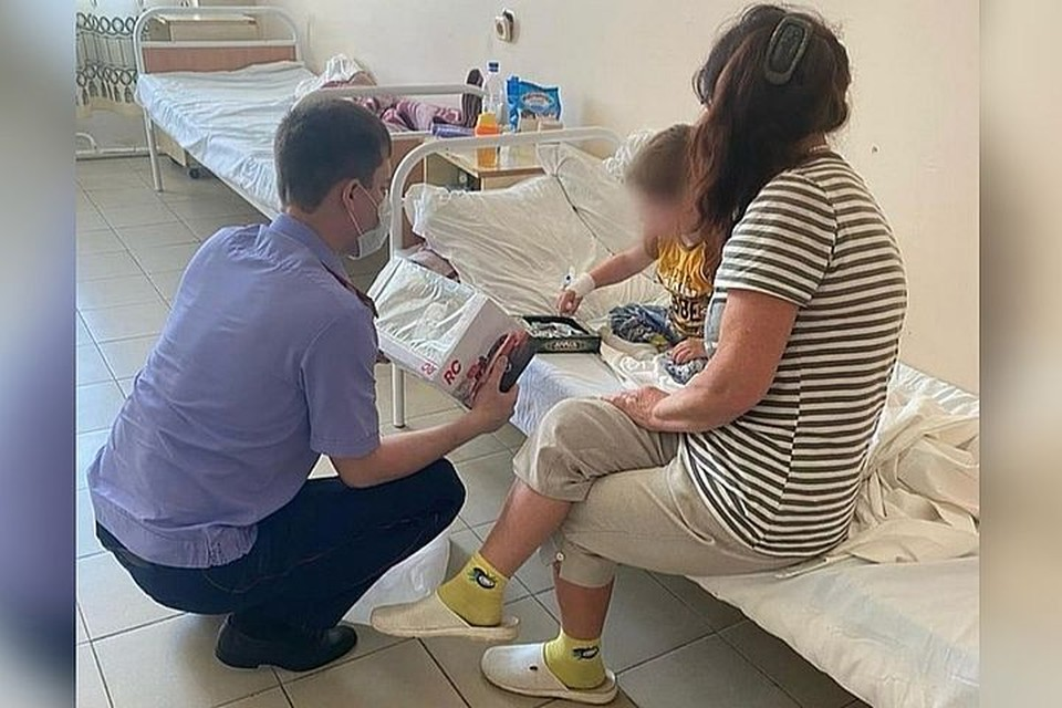 Мальчика планируют выписать в ближайшее время. Фото:primorsky.sledcom.ru.