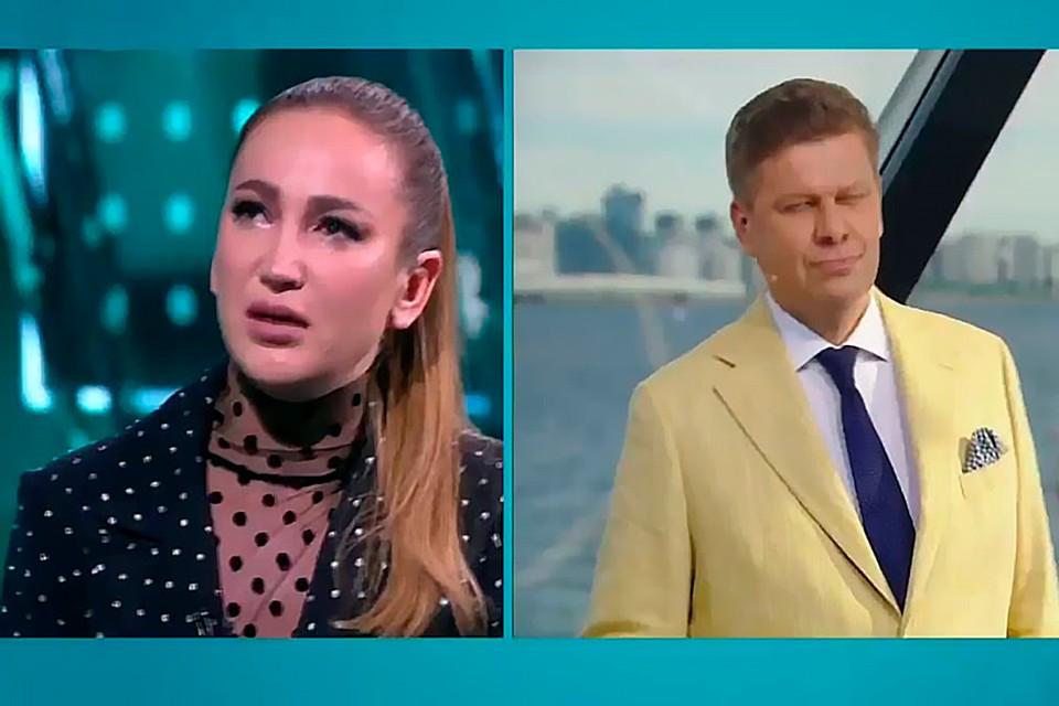 Ольга Бузова внезапно разрыдалась в прямом эфире в ответ на вопрос Дмитрия Губерниева.