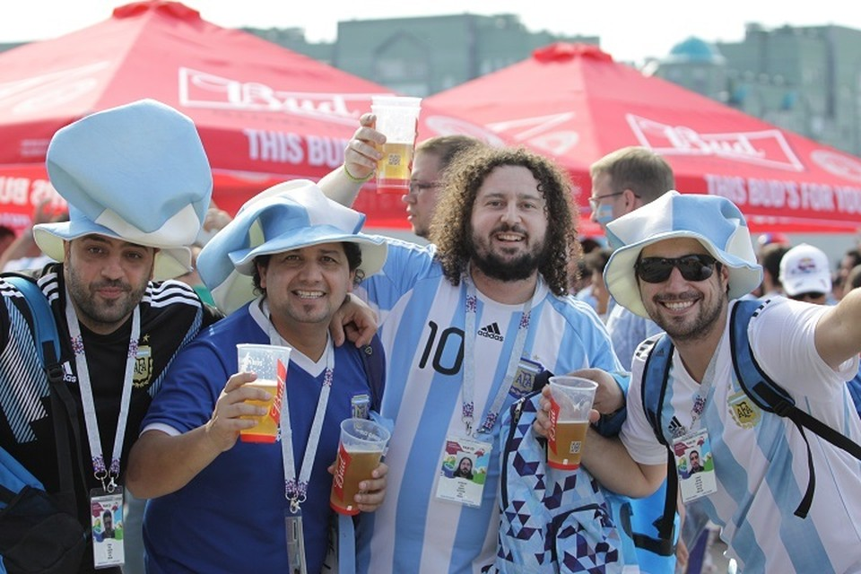 Больше всего Казань полюбилась фанатам из Южной Америки.