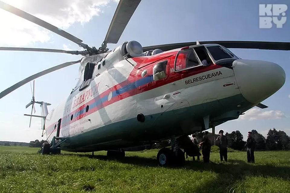 Авиация МЧС будет проводить учебно-тренировочные полеты вблизи аэродрома «Липки» в Минске вечером 16 июня.