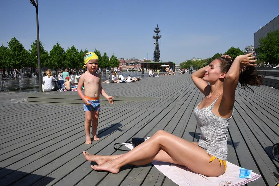 22 июня может быть побит температурный рекорд 1917 года. В тот день в Москве столбики термометров показывали 31,8 градусов тепла.