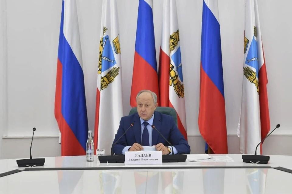 Губернатор Валерий Радаев поручил разобраться в ситуации с зарплатами работников культуры