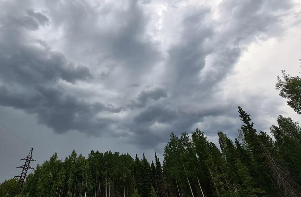 Погода в Югре на 18 июня 2021 года: сильный дождь и гроза