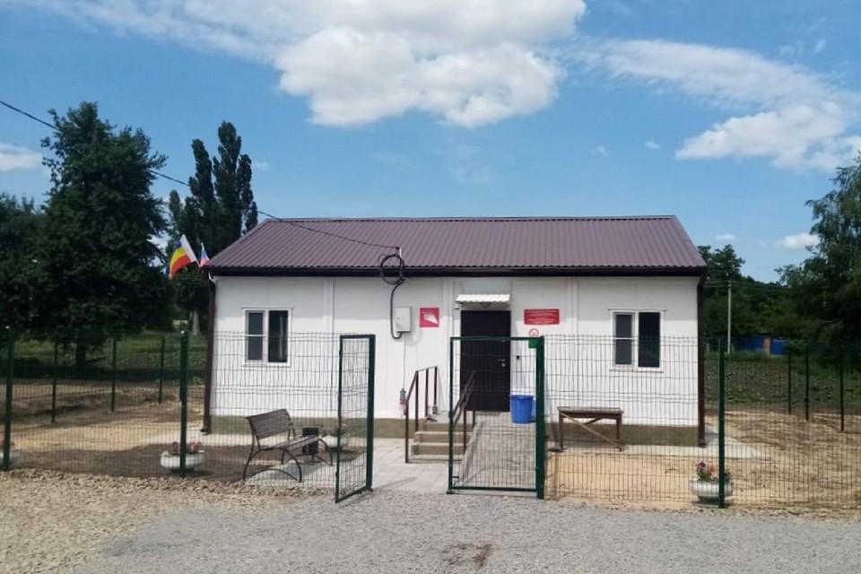 В Ростовской области открылся фельдшерско-акушерский пункт. Фото: правительство РО