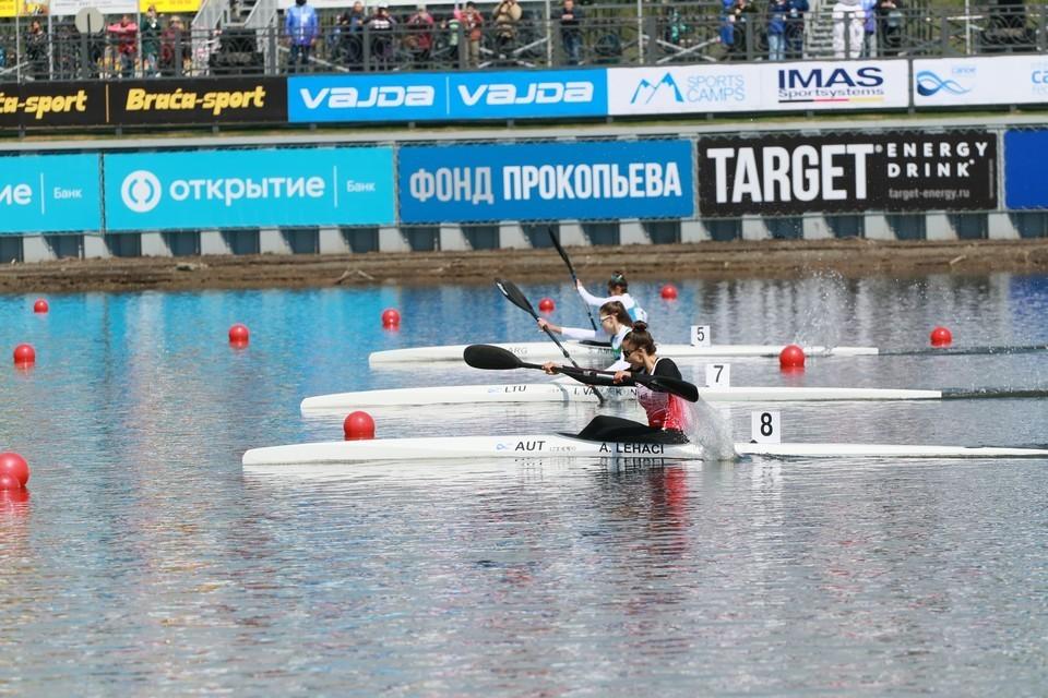 В мае Барнаул принимал II этап Кубка мира по гребле на байдарках и каноэ