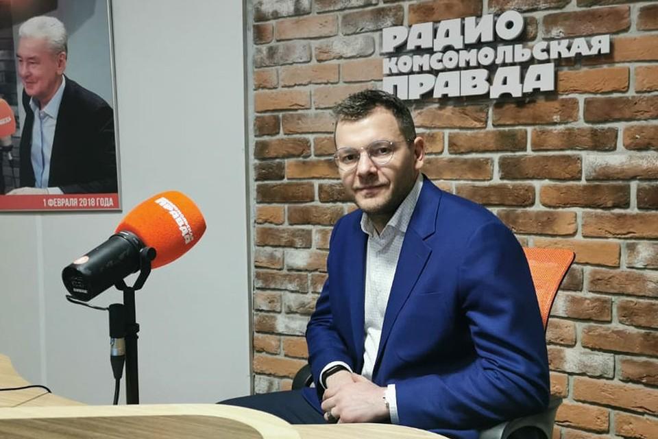 Руководитель Национального научного центра содействия достижению углеродной нейтральности экономики «Ансельм» Максим Канищев.