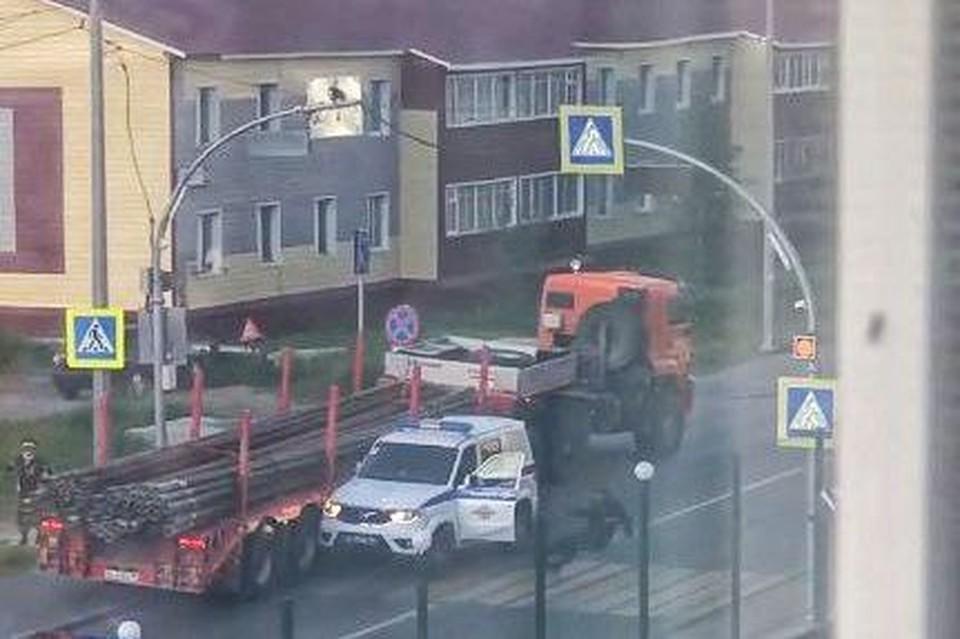 Фото: скрин из видео, размещенного в паблике «Подслушано в Салехарде» во Вконтакте