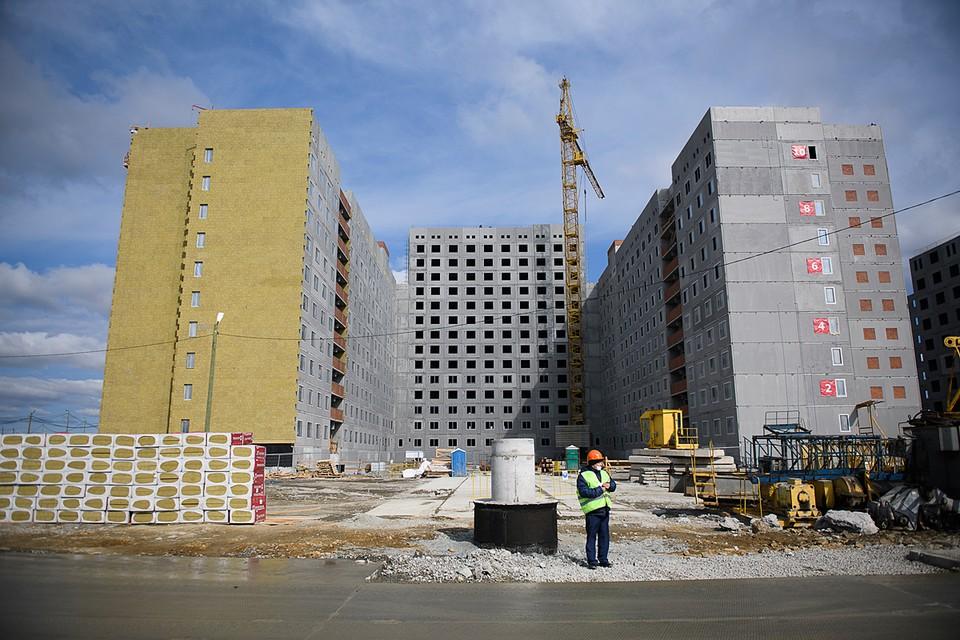 Сегодня в регионе возводятся самые современные объекты социальной инфраструктуры, жилые кварталы