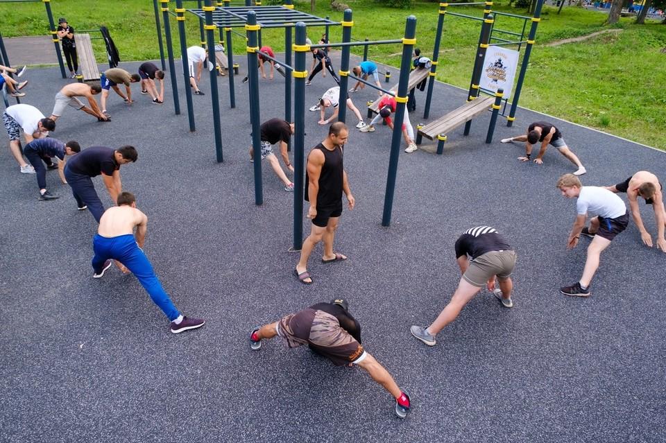 Туляков приглашают на бесплатные тренировки по воркауту