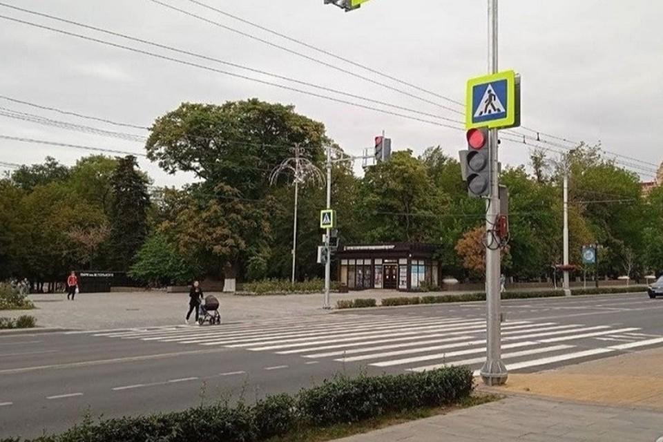 Речь идет о светофорах на Малиновского и Белорусской. Фото: сайт администрации Ростова