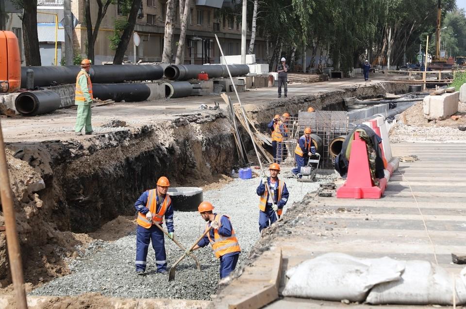 В Самаре делают ремонт теплотрасс