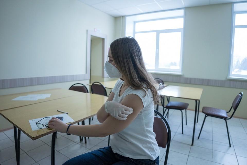 В Мценске организовали ежедневную работу мобильного пункта вакцинации