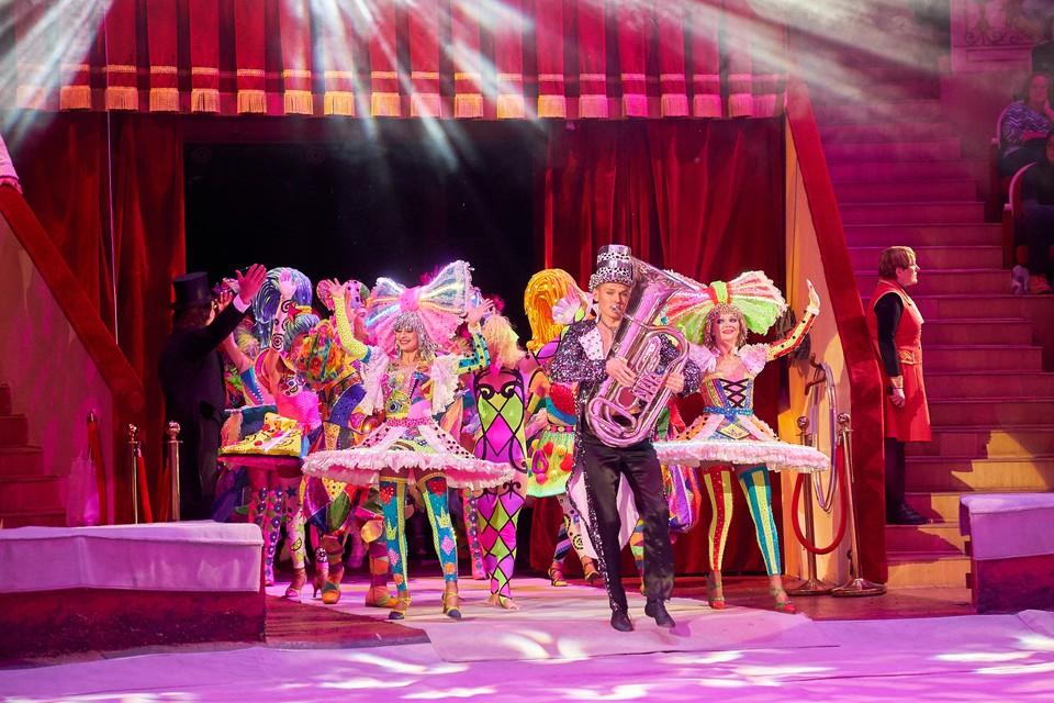 В цирки будут пускать не 75, а только 50% зрителей.