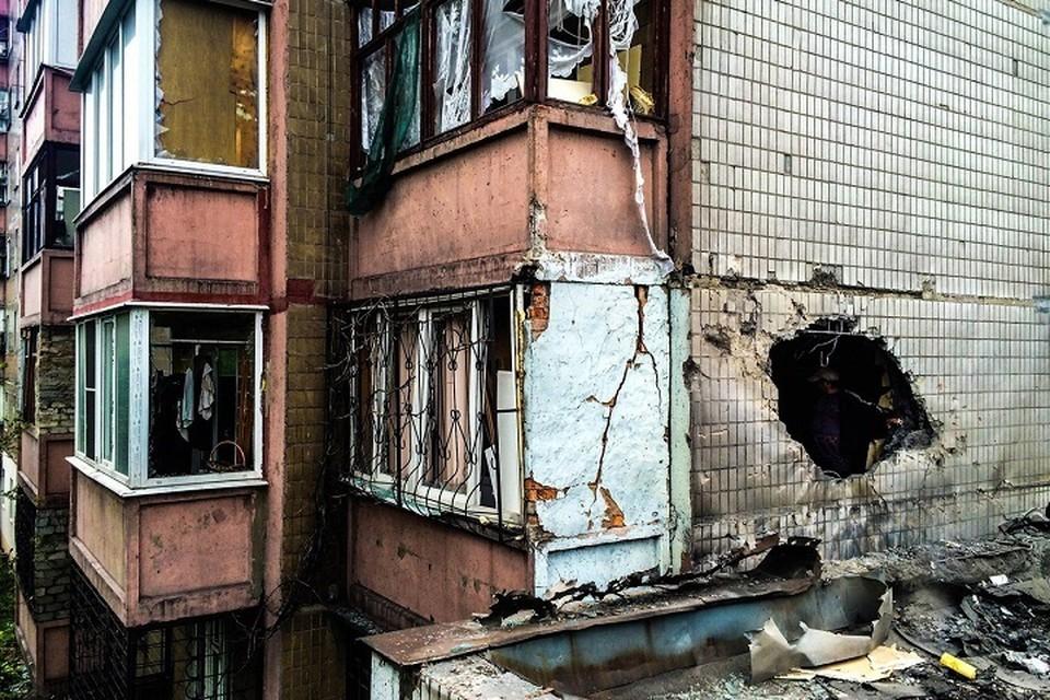 Война в Донбассе продолжается уже восьмой год