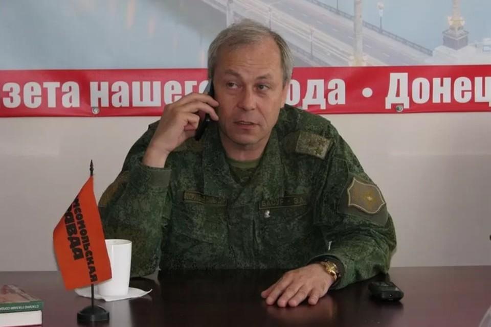 Заместитель начальника Управления Народной милиции Эдуард Басурин