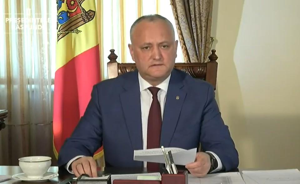 Игорь Додон сделает заявление по поводу выборов и ответит на вопросы СМи и граждан.