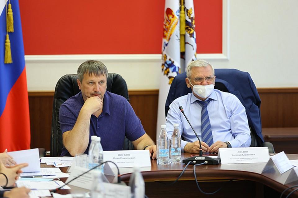 Дзержинску предложили присвоить звание «Город трудовой доблести». ФОТО: Пресс-служба администрации Дзержинска.