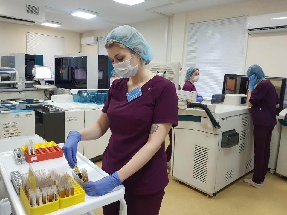 Лабораториями Ростовской области за сутки проведено 11666 тестов