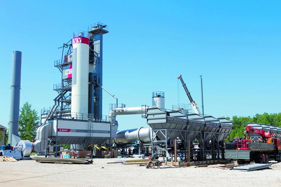 Сейчас в ООО «Черноземье» готовится к запуску нового асфальтобетонного завода (АБЗ) в Турынино.