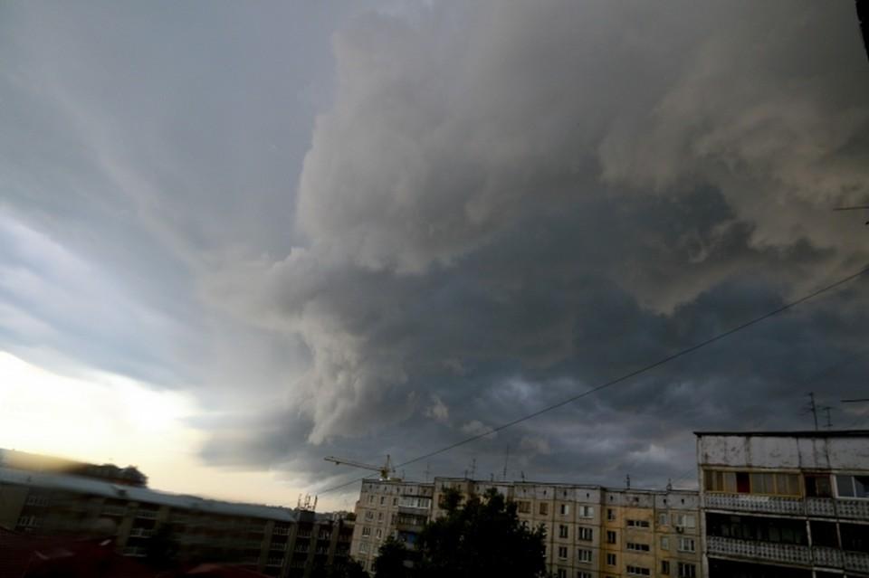 Синоптики прогнозируют, что непогода обрушится на некоторые районы до конца суток