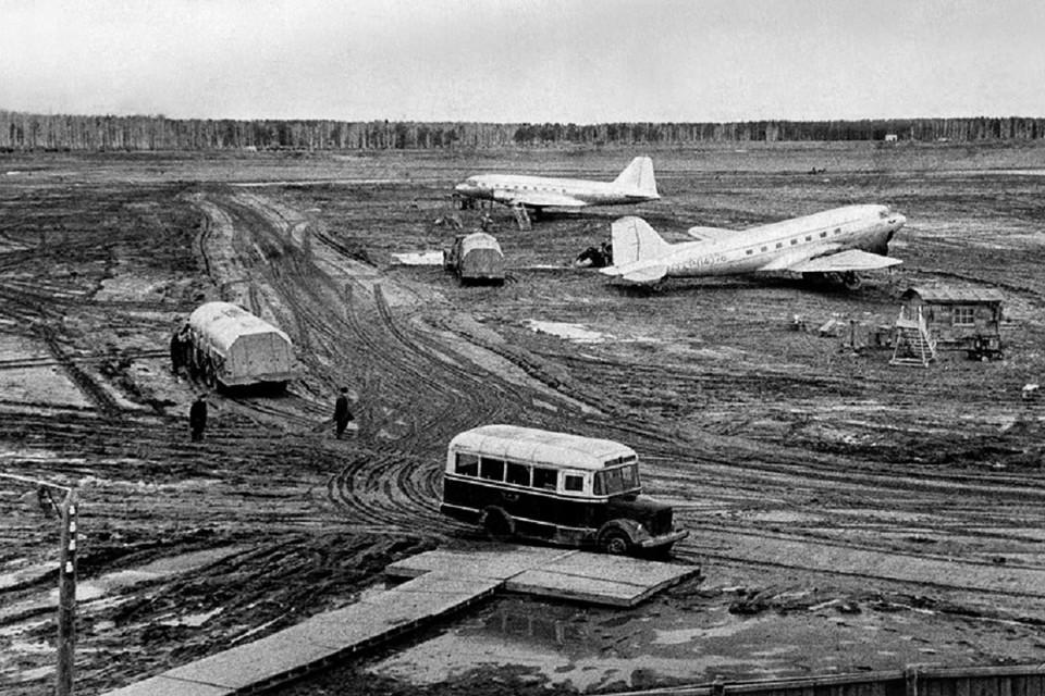 Авиапарк со времен прошлого века заметно изменился. Фото: из архива аэропорта «Толмачево»