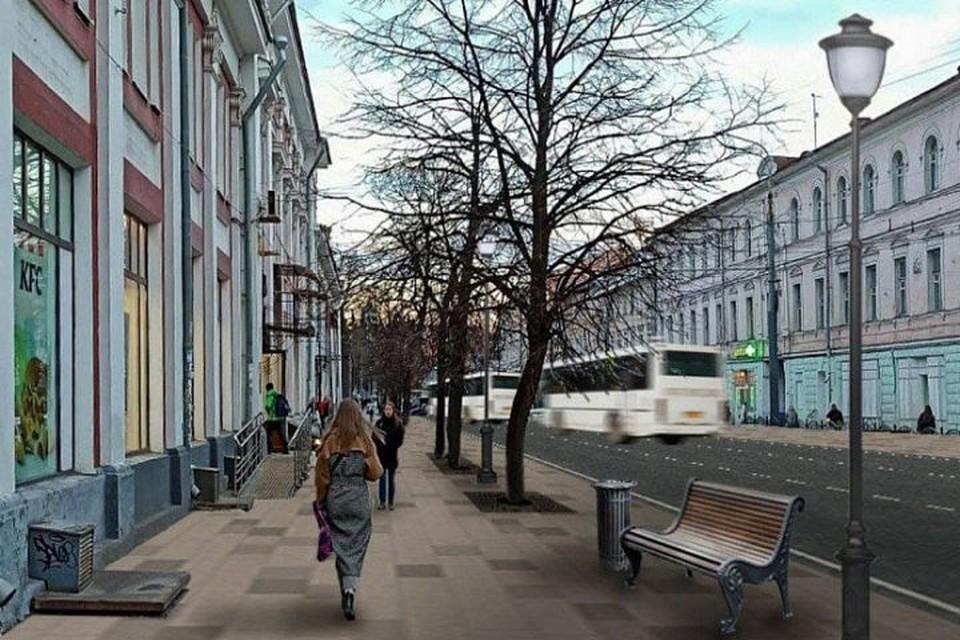 На улице Комсомольская начнутся ремонтные работы на двух полосах по левой стороне.
