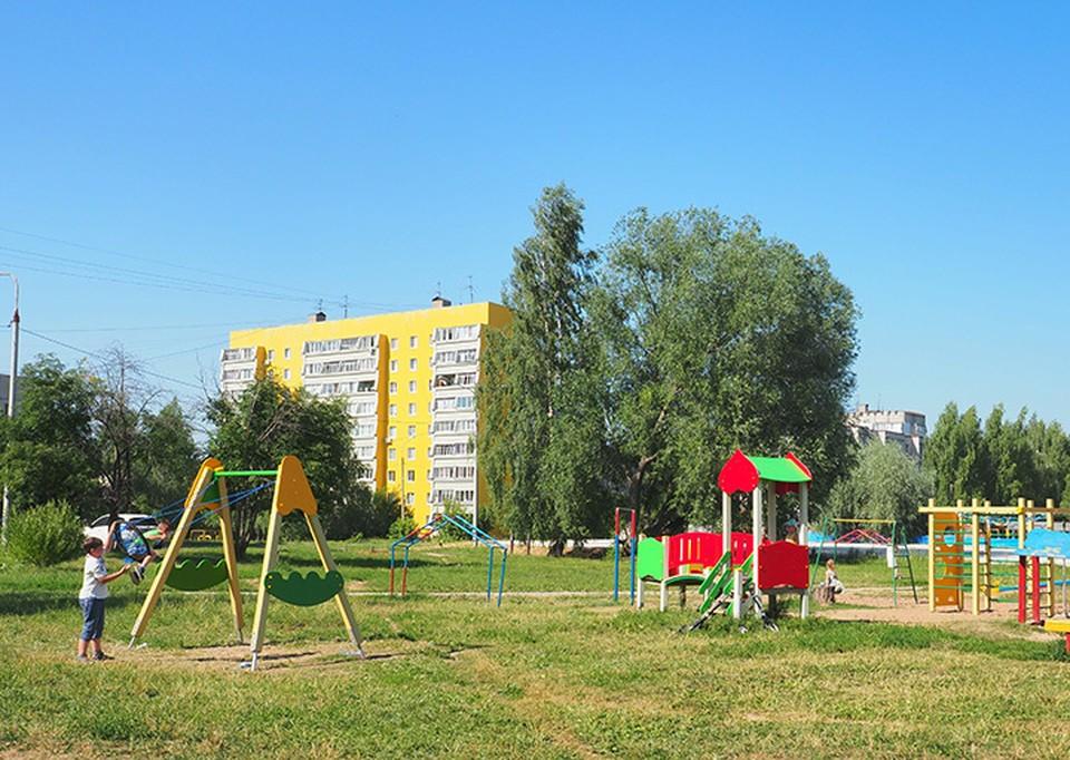 В Кстове открылась детская площадка при поддержке «ЛУКОЙЛ».