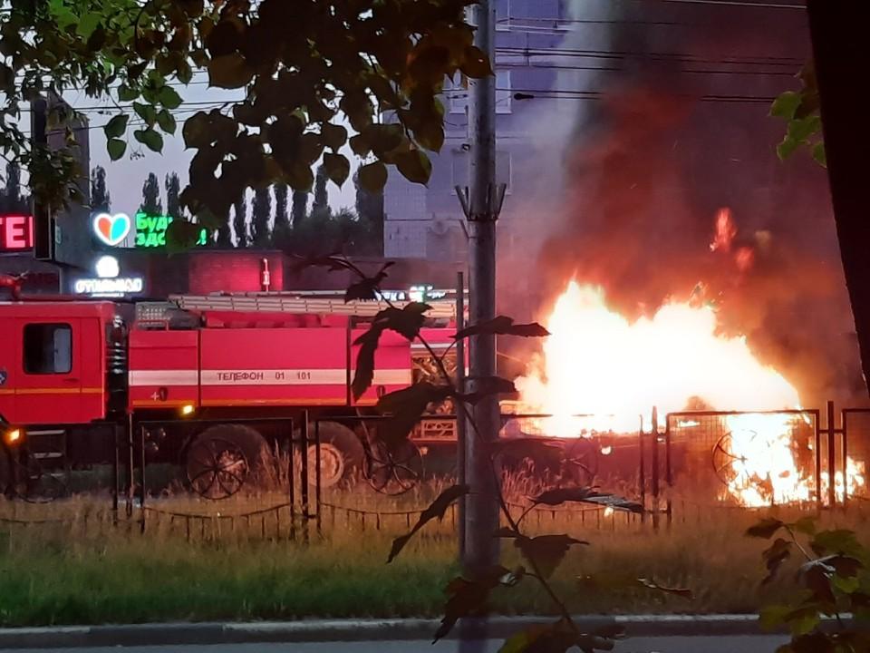 В Рязани на остановке кинотеатр «Октябрь» произошла страшная авария.