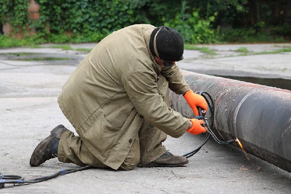 Специалисты «Луганскгаза» приступили к сварочным работам. Фото: luganskgaz.org