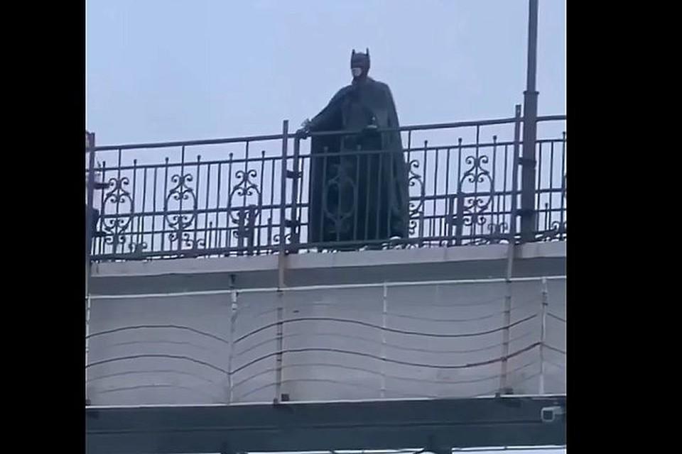 """Герой осматривал """"владения"""" с высоты."""