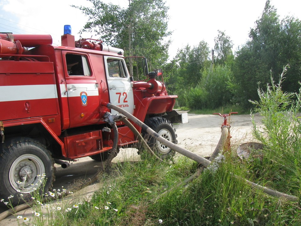 За прошедшую неделю в Югре зарегистрировано 85 пожаров Фото: ГУ МЧС России по ХМАО-Югре