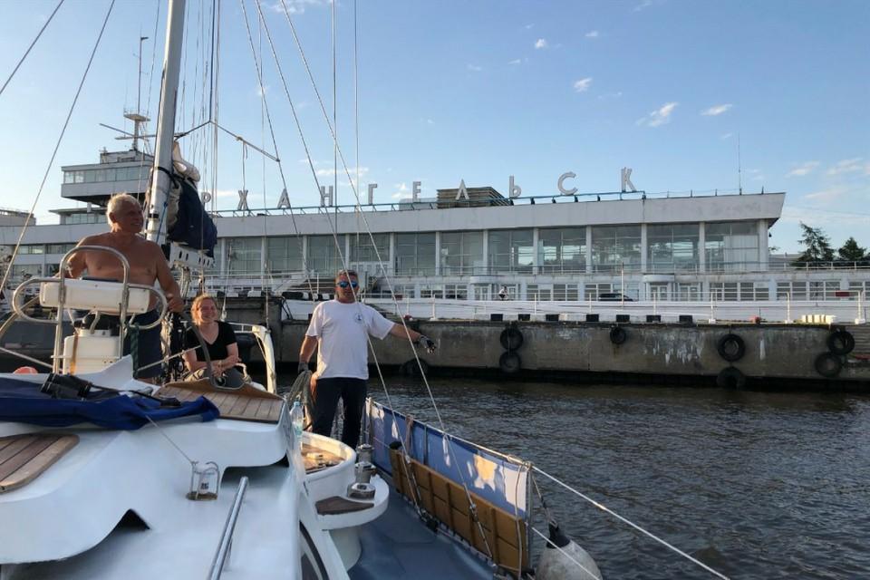 Экспедиция дошла из Петербурга до Архангельска. Фото предоставлено пресс-службой партии «Новые люди».