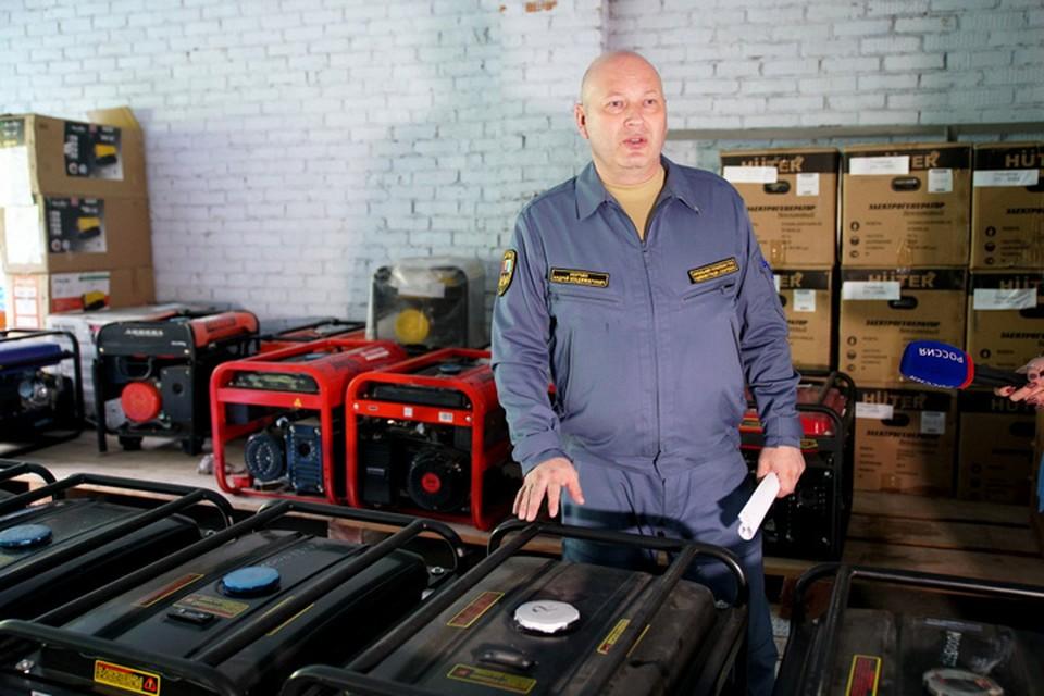 В Хабаровске проверили готовность насосного оборудования на случай ЧС.