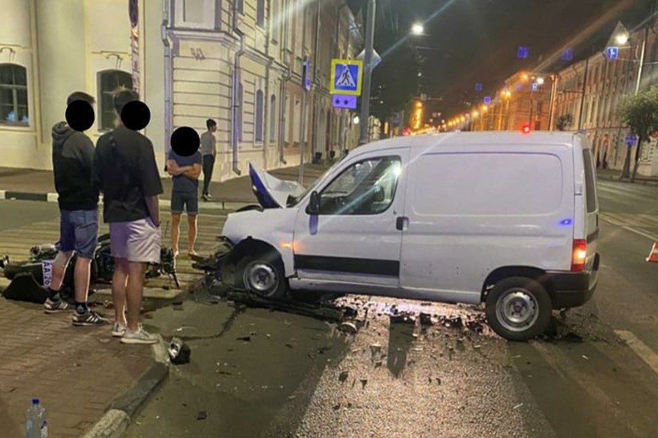 В ДТП посрадали двое Фото: vk.com/uvideno_v_tveri