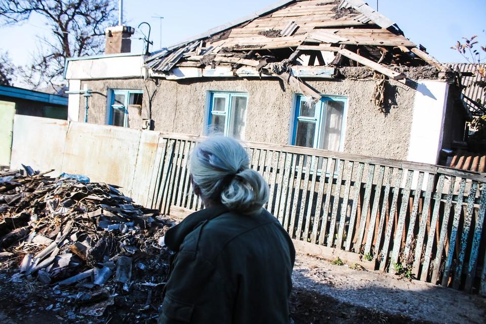Представительство ДНР в СЦКК зафиксировало последствия обстрела [архивное фото]