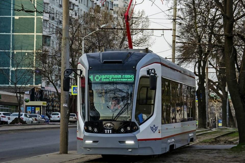 В Таганроге ограничили движение нескольких трамваев