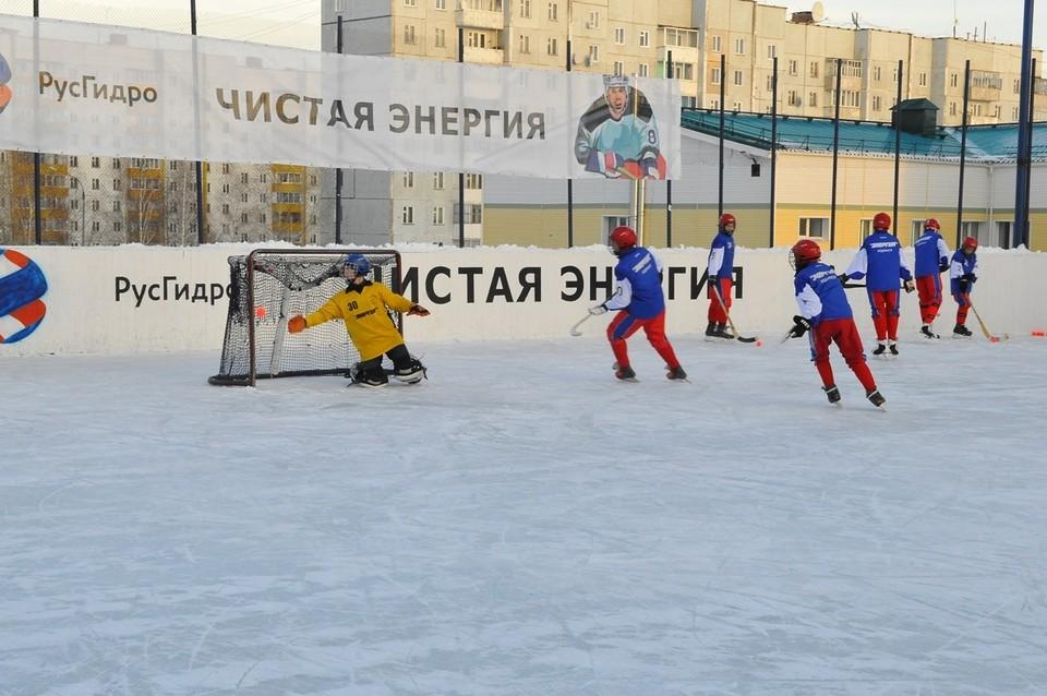 РусГидро и Богучанская ГЭС помогают хоккейному клубу «Энергия». Фото предоставлено компанией